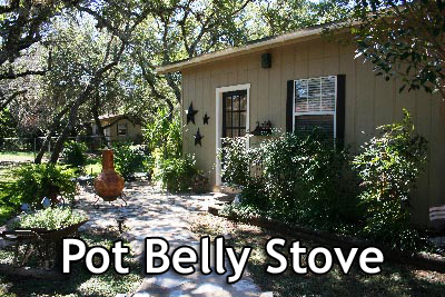Pot Belly Stove Cottage