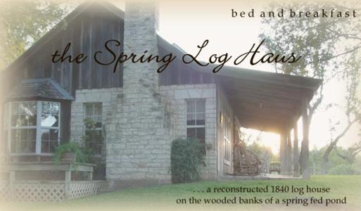 Spring Log Haus