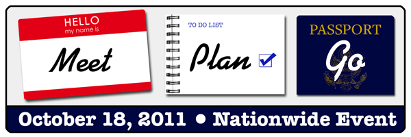 Meet, Plan, Go! 2011 Logo