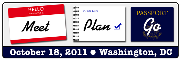 Meet, Plan, Go! in DC on Oct 18